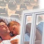 Окна ВЕКА с шумоподавляющим стеклопакетом