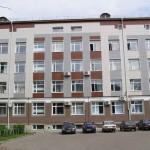 Окна здания Псковгражданпроекта