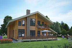 Строительство дом из бревен Псков