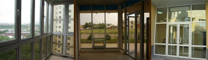 Тонированные стеклопакеты в Пскове.