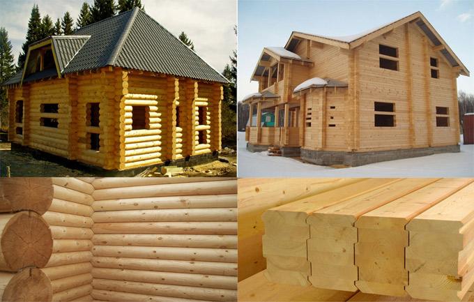 Деревянные дома в Пскове. Строительство деревянных домов.